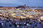 Djema el Fena Square, Marrakech, 2012