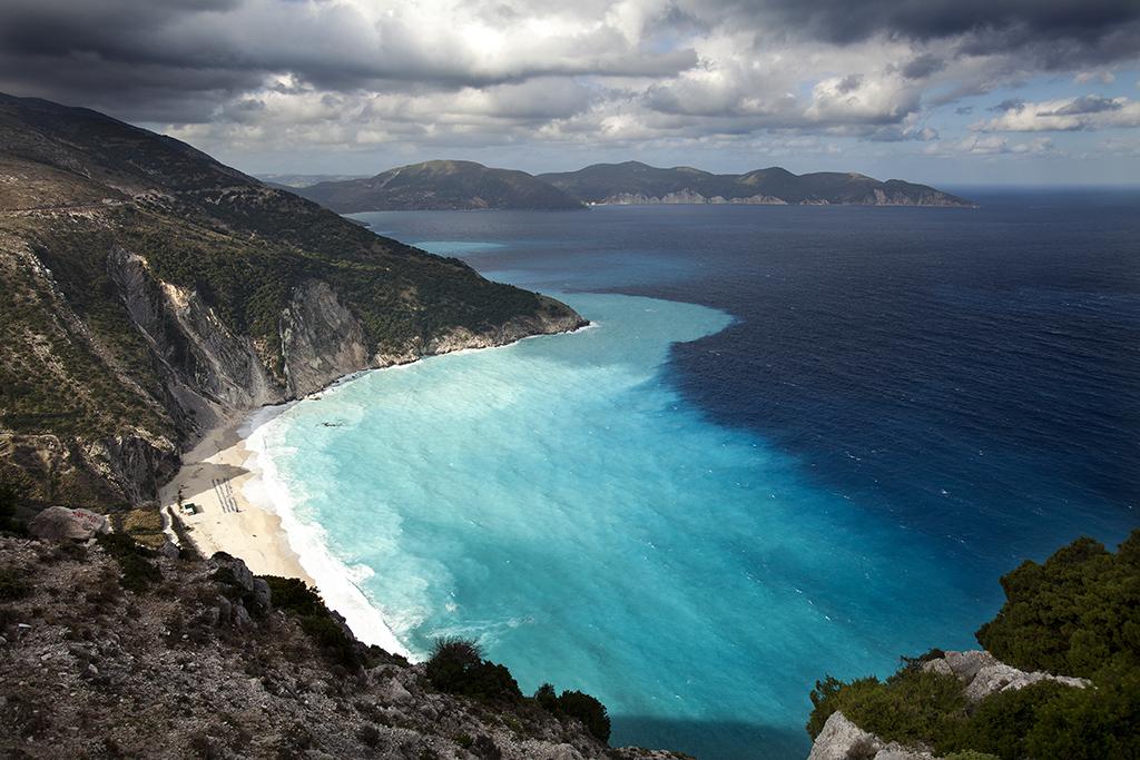 Myrtos Beach, Kefalonia Island, Greece, 2012