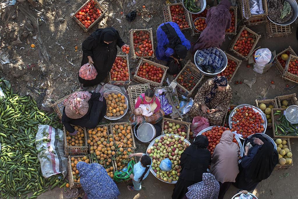 Monofeya Women's Market, Egypt, 2015