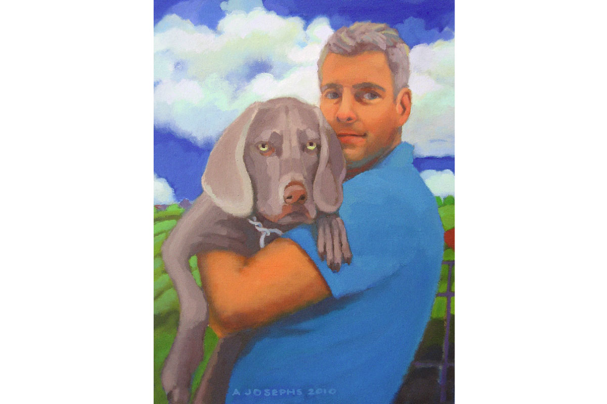 Kaiser & Jimmy : Private Collection : Inquire about pet portraiture