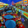 The Midway : 2007. 48{quote} X 48{quote} Oil. In the Collection of the Artist. Inquiries >