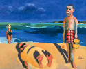 Gordon by the Sea : 1996. 60{quote} X 48{quote} Oil. Private Collection