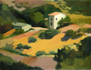 Umbria : 1993. 18{quote} X 12{quote} Oil. Private Collection