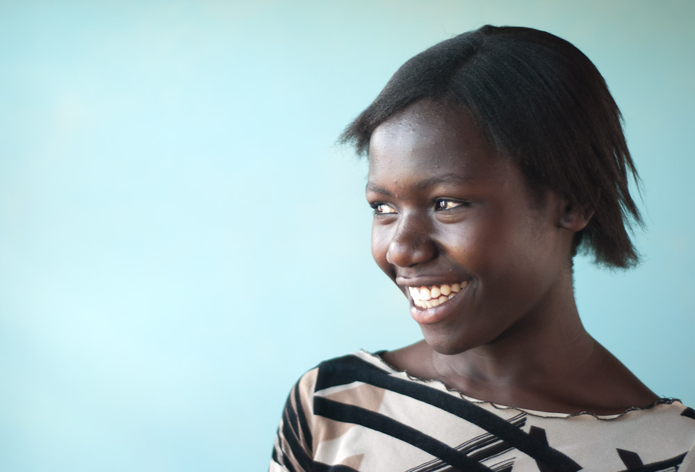 "Faith's dream is to study both biochemistry and French. She took up drama in secondary school to practice her French.""My favorite role was playing the part of a grandfather in a play about post-election violence in Kenya and how Kenyans suffered. I had a walking stick and wore big trousers and a big, ugly shirt."" She laughed. So, then, why biochemistry? ""Because in our communities, medicine is not well distributed and there is a growing shortage. Malaria is becoming drug resistant.{quote}"