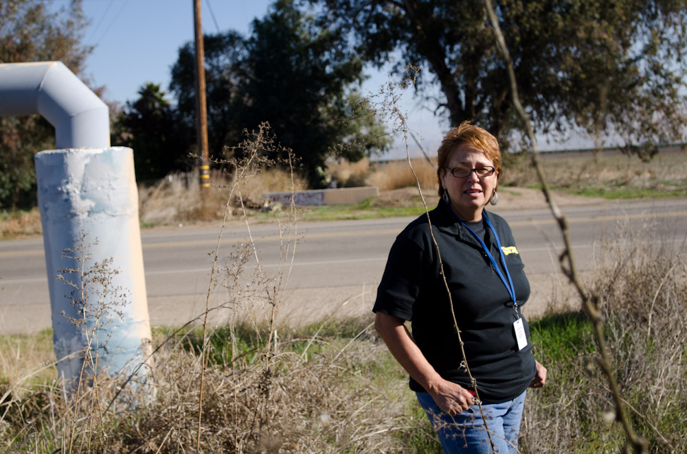 Becky Quintana, a grassroots organizer, has been advocating for clean water for many years, starting in her hometown of Seville.