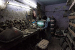 India's informal e-scrap workers operate in cramped, dusty spaces, but their knowledge of markets is precise.