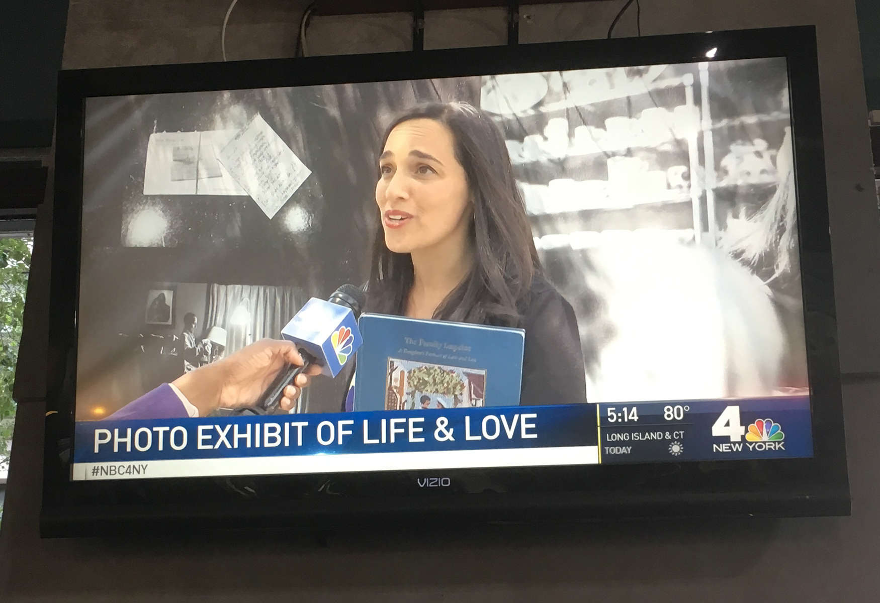 I love my local news, so getting to share my story and invite people to my first public art exhibition at the same time was sort of a dream. The exhibit is up until October 2017 and is hanging along a fence on Washington Street in DUMBO. Check it out if you are in town! Shout out to my old friend Hilary Weissman who made this a reality.Watch it here