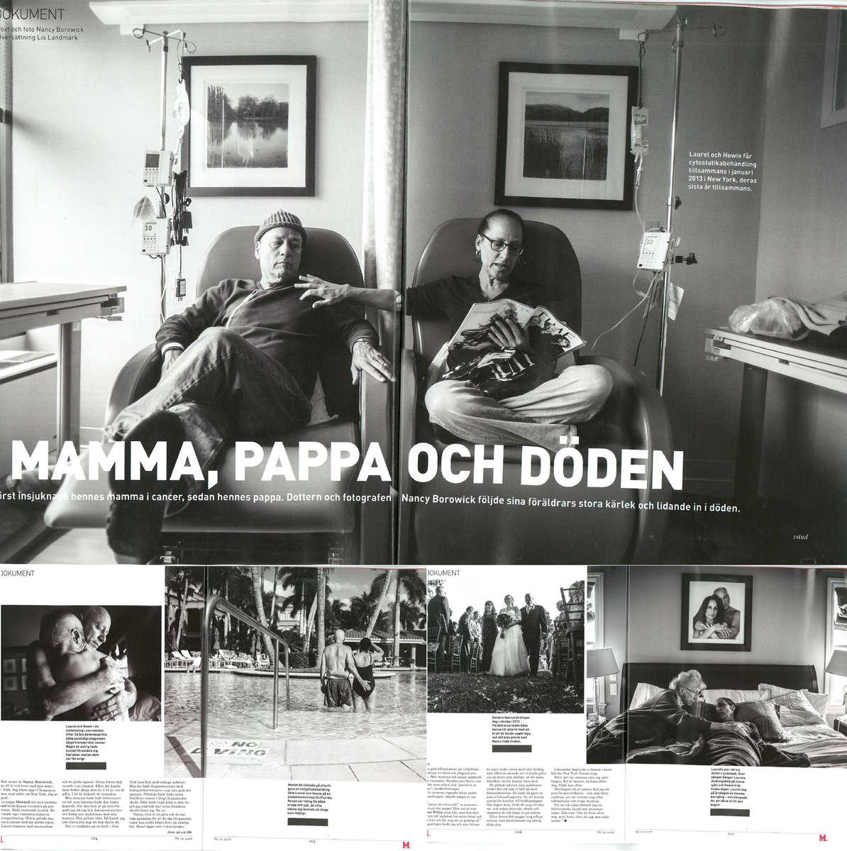 M Magazin, Sweden