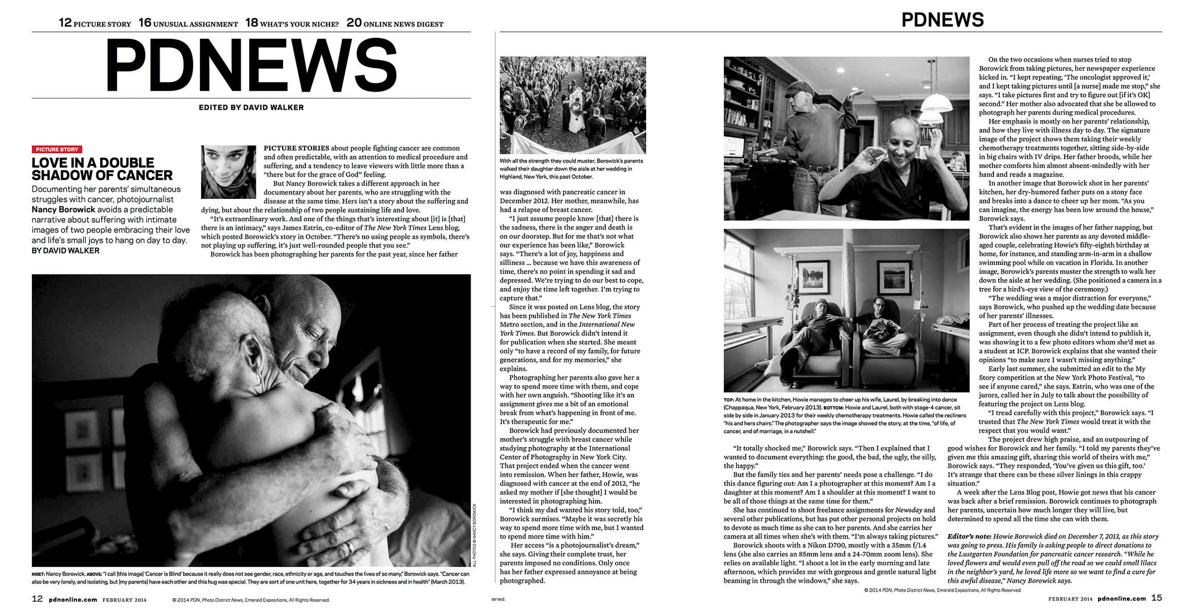Photo District News Magazine Feature