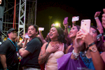 The fans were celebrating all through the night during the Boyz II Men concert at the Paseo Stadium on Guam. (Dec. 15, 2017)Photo by Nancy Borowick