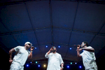 Boyz II Men were back again, taking the people of Guam by storm in a song and dance filled evening at the Paseo Stadium in Hagatna, Guam on a beautiful winter night. (Dec. 15, 2017)Photo by Nancy Borowick
