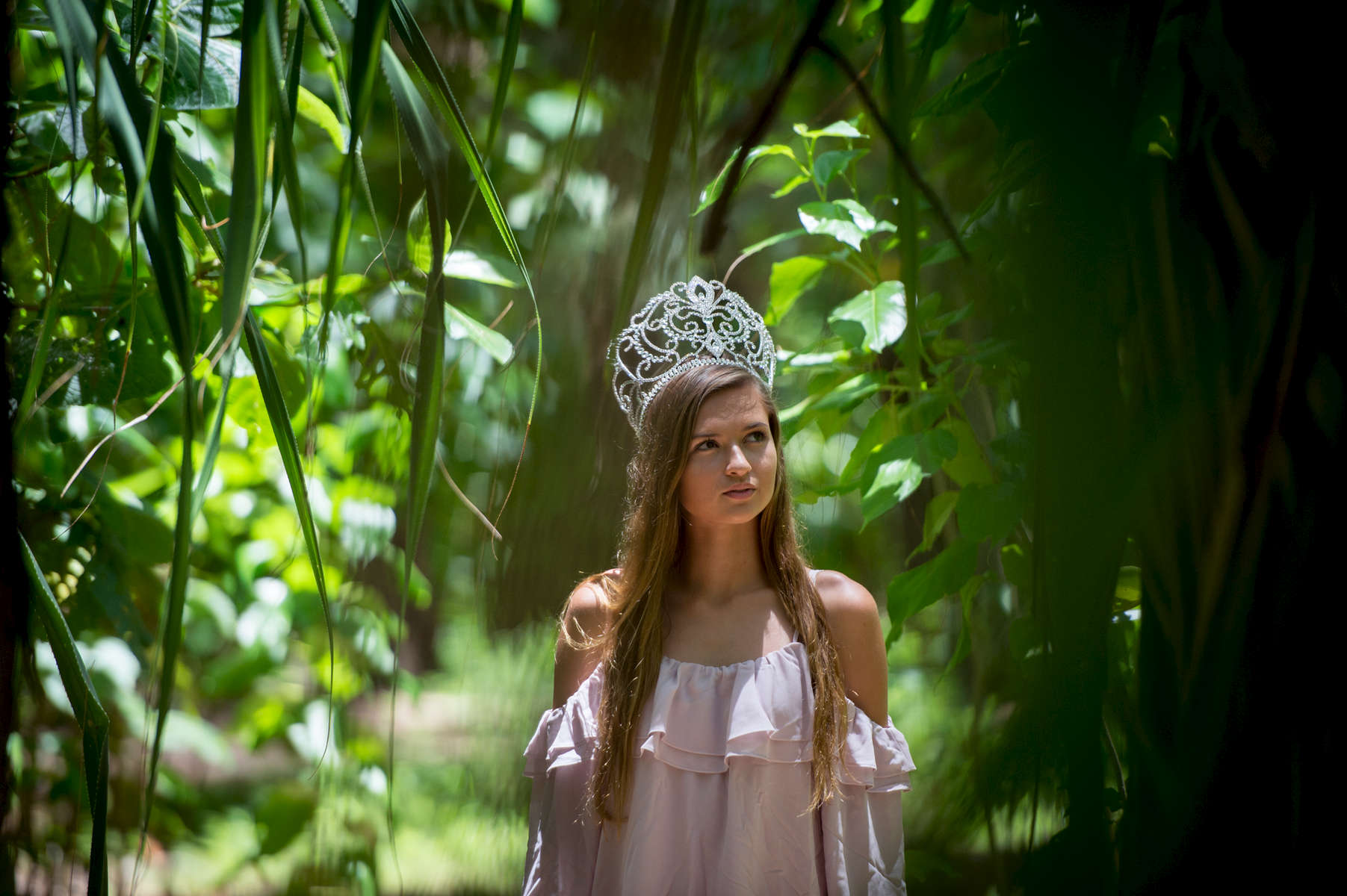 Emma Sheedy, 17, Guam High School Senior and track star, was recently crowned Miss Earth Guam, vowing to fight against illegal dumping and preserving the natural environment on Guam. (Aug 14, 2017)Photo by Nancy Borowick