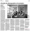 The Cancer Family project was exhibited in France in late 2015 and the Swiss newspaper, Le Temps, contacted me about a story around the photographs and my family.Read it here