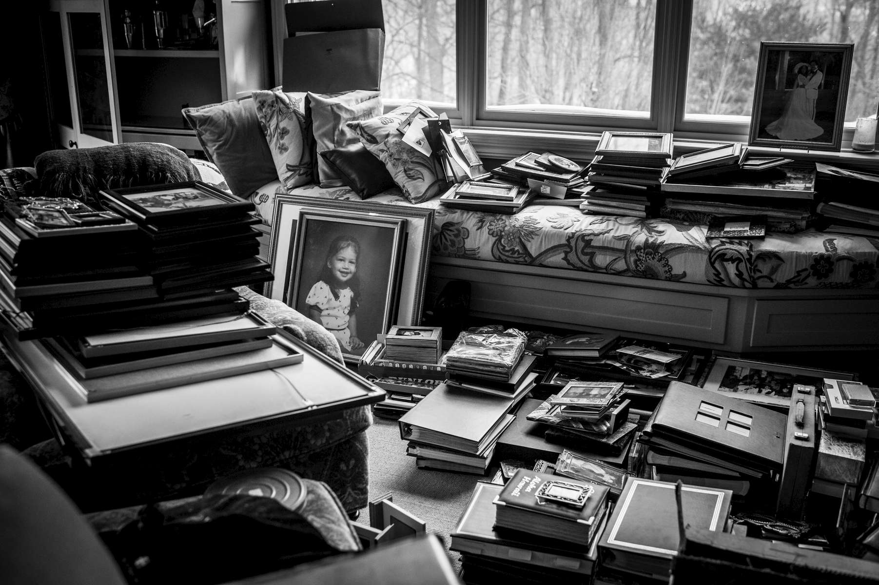 Thousands of photographs were uncovered from every corner of the home, reflecting a lifetime of memories that we will hold on to forever.