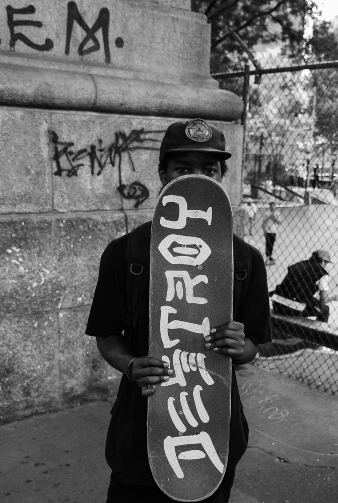 Tory, LES Coleman Skatepark