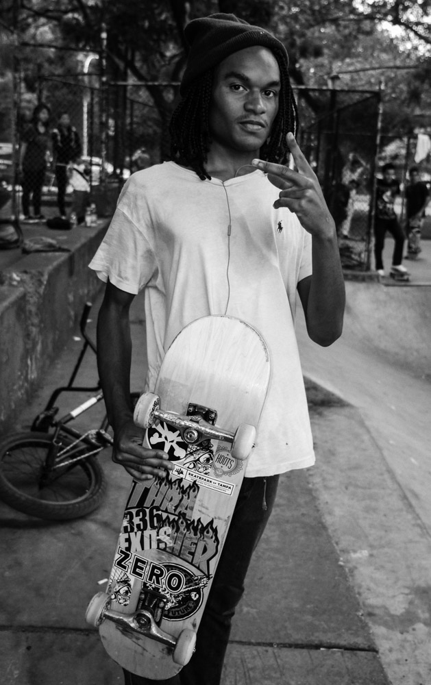 David, LES Coleman Skatepark