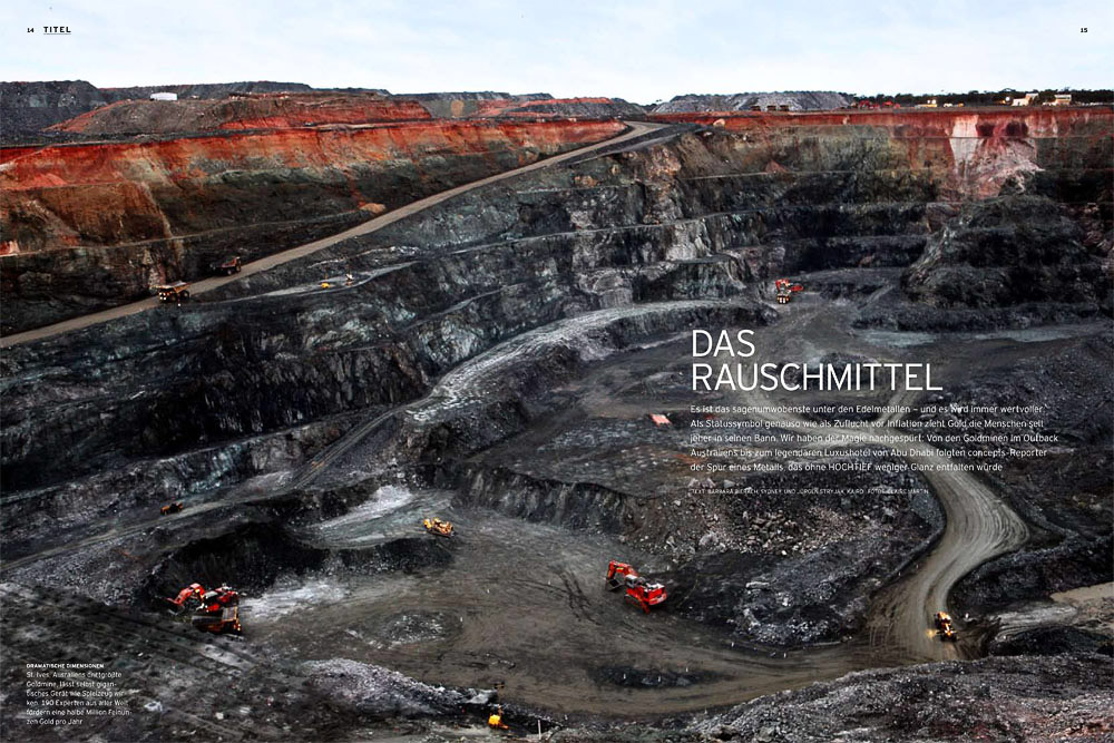 St Ives Gold Mine and Kalgoorlie Mega Pit article.