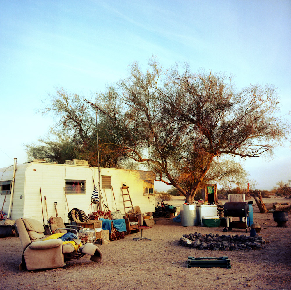 carol and gary s place slab city the misfits photo essays a typical residence at slab city