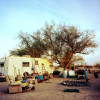 A typical residence at Slab City.