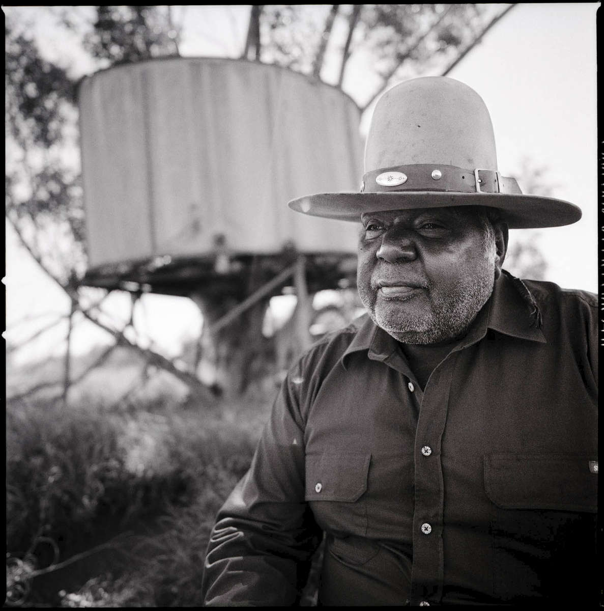 Marlbatharndu Wanggagu | Once Upon a Time in the West explores histories and stories of Aboriginal stockmen, rural, and domestic workers on pastoral stations in the Pilbara during the 20th century. Focusing on the experiences of Banyjima, Yinhawangka, and Nyiyaparli people, the project is the result of an engaged and sustained collaborative partnership between the IBN Aboriginal Corporation and FORM. For the exhibition oral  histories and audio will sit alongside photography and paste-ups by Jetsonorama (USA), a commissioned installation by Reko Rennie (Melbourne), and photography by Claire Martin (Australia).