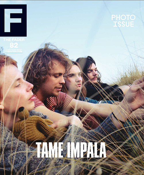 Tame Impala feature article and cover.