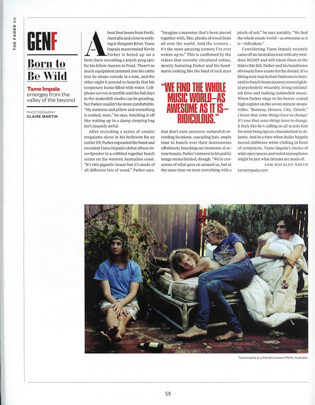 Tame Impala Feature Story