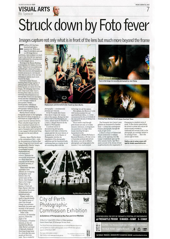Foto Freo Exhibition Reviews - by Ric Spenser.