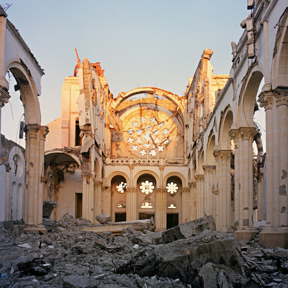 The Cathedral of Our Lady of the Assumption, built in 1884 was destroyed in the January Earthquake killing the archbishop of Haiti instantly. Roman Catholicism is the official religion of Haiti and 97% of Haitians practice catholic or other denominations of Christian worship.