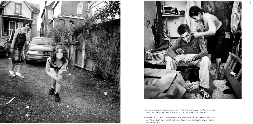 dienacht magazine published press claire martin the downtown east side photo essay and article