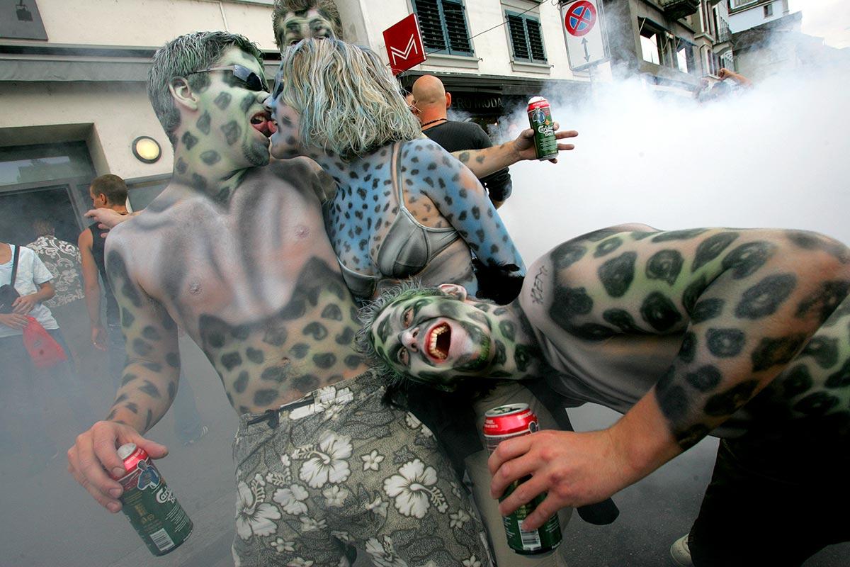 Street parade \ Zurich