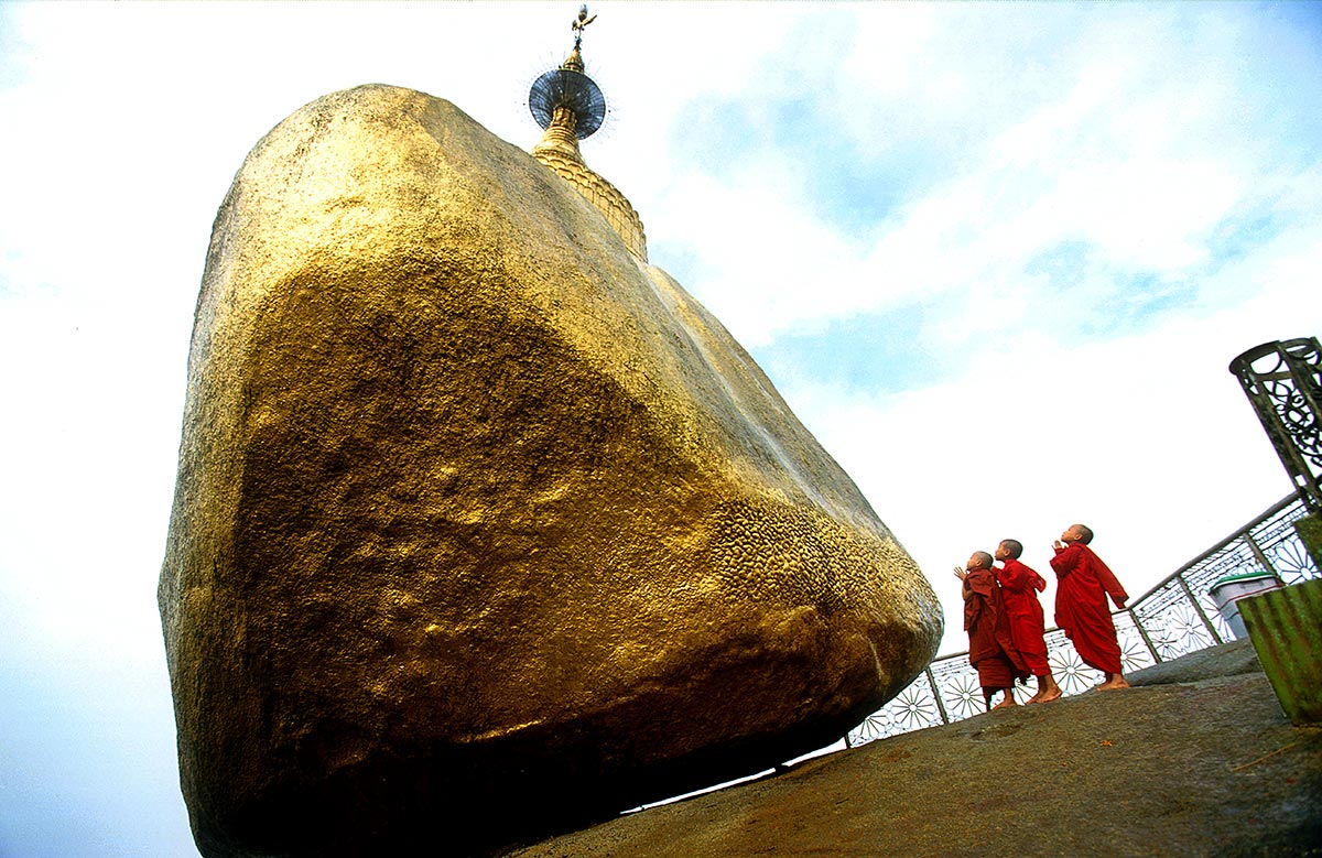 Golden Rock \ Burma