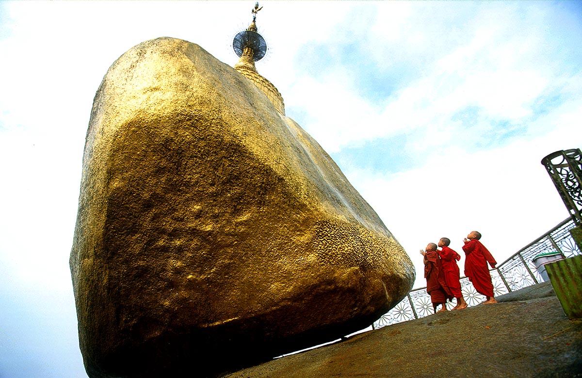Golden Rock \ Burma