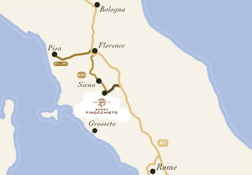 Borgo Map