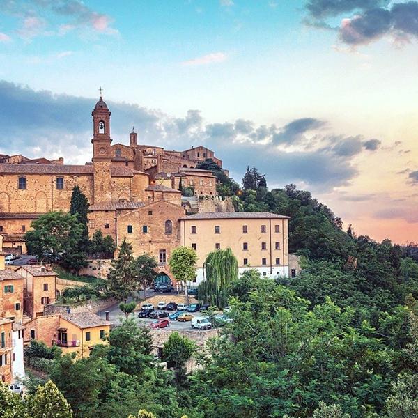 San Querico, Pienza, Montepulciano