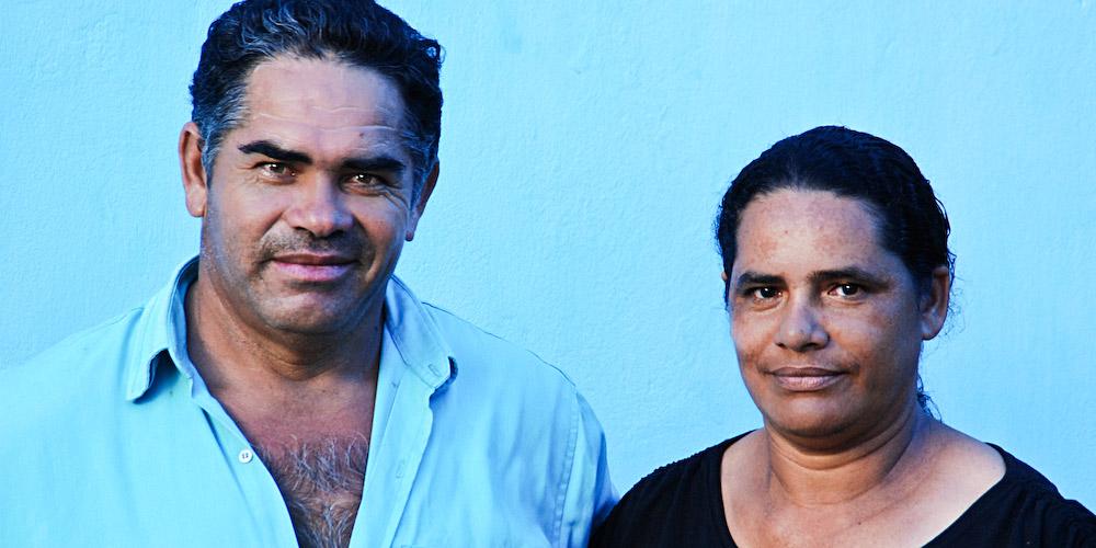 Sr. Davi Reinaldo e Sra. Neci Braga