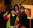Chau Anh and son Vu with the author.