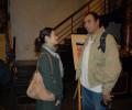 Helen Kang and Hanoi resident John Reilly.