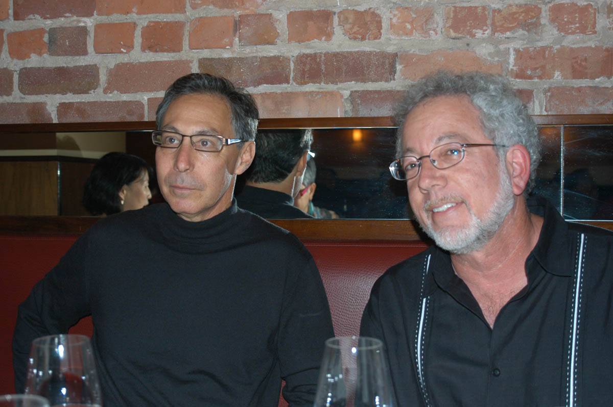 Left to right: David Weinberg and Norm Gusner