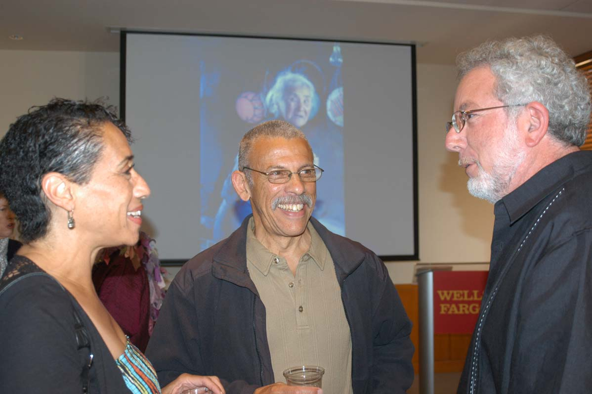 Left to right: Dawn Jones, Ron Ashford and Norm Gusner