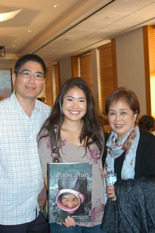 George, Sabrina and Kyoko Whang