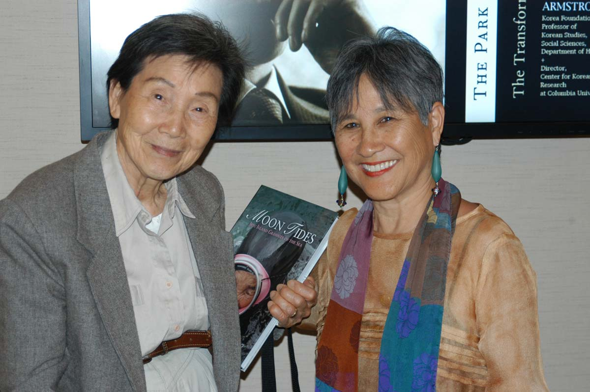 Mother of filmmaker Liz Chae ({quote}The Last Mermaids{quote}), which was screened at Book Cafe.