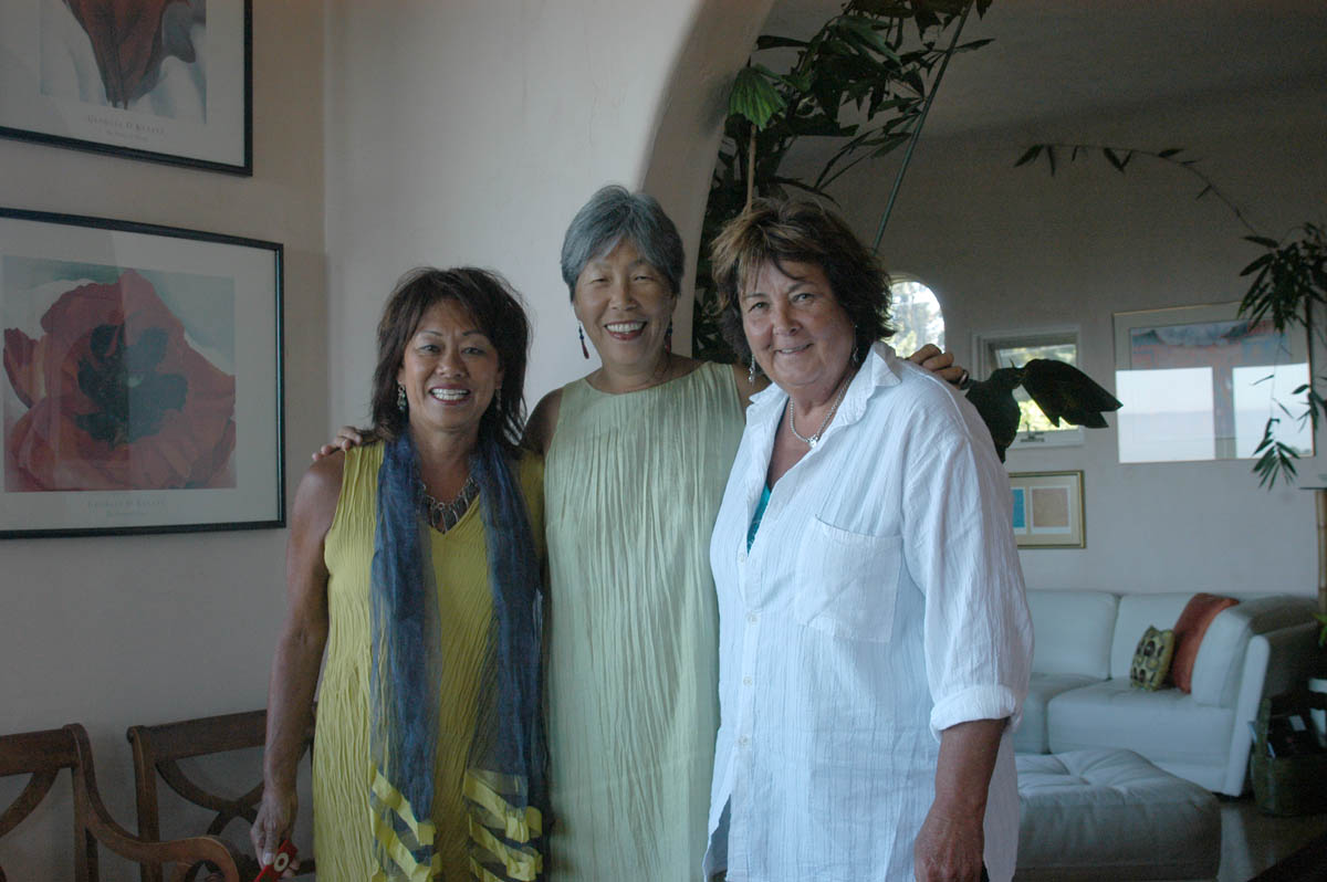 Chris Lim, Gail Whang and Vana James.