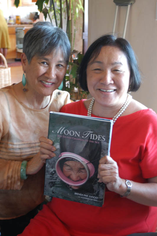 Author with Jean Quan, mayor of Oakland, California.