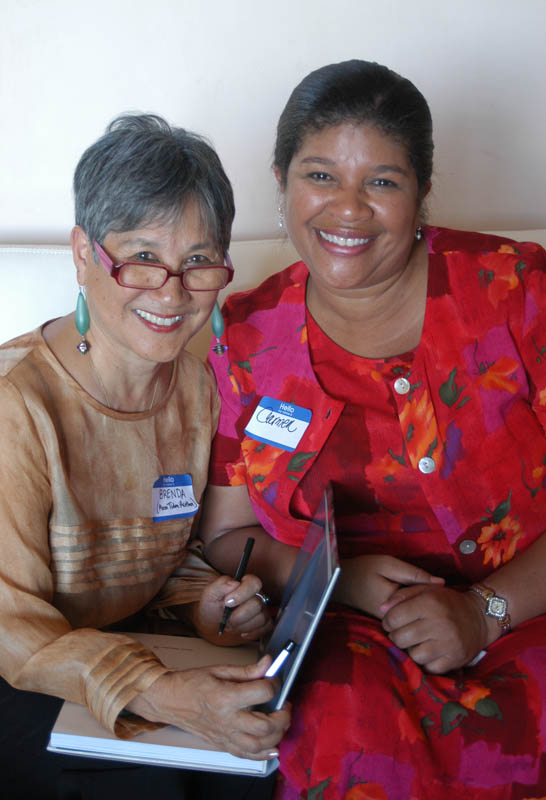 Author with Carmen Sullivan