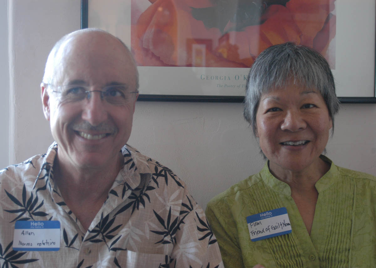 Alan Miller and Pam Eguchi
