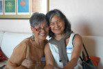 Author with cousin Vanessa Whang