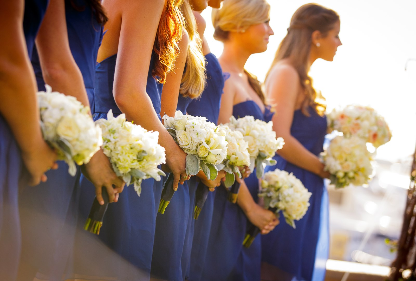balboa-bay-club-ceremony-with-blue-bridesmaids-dresses