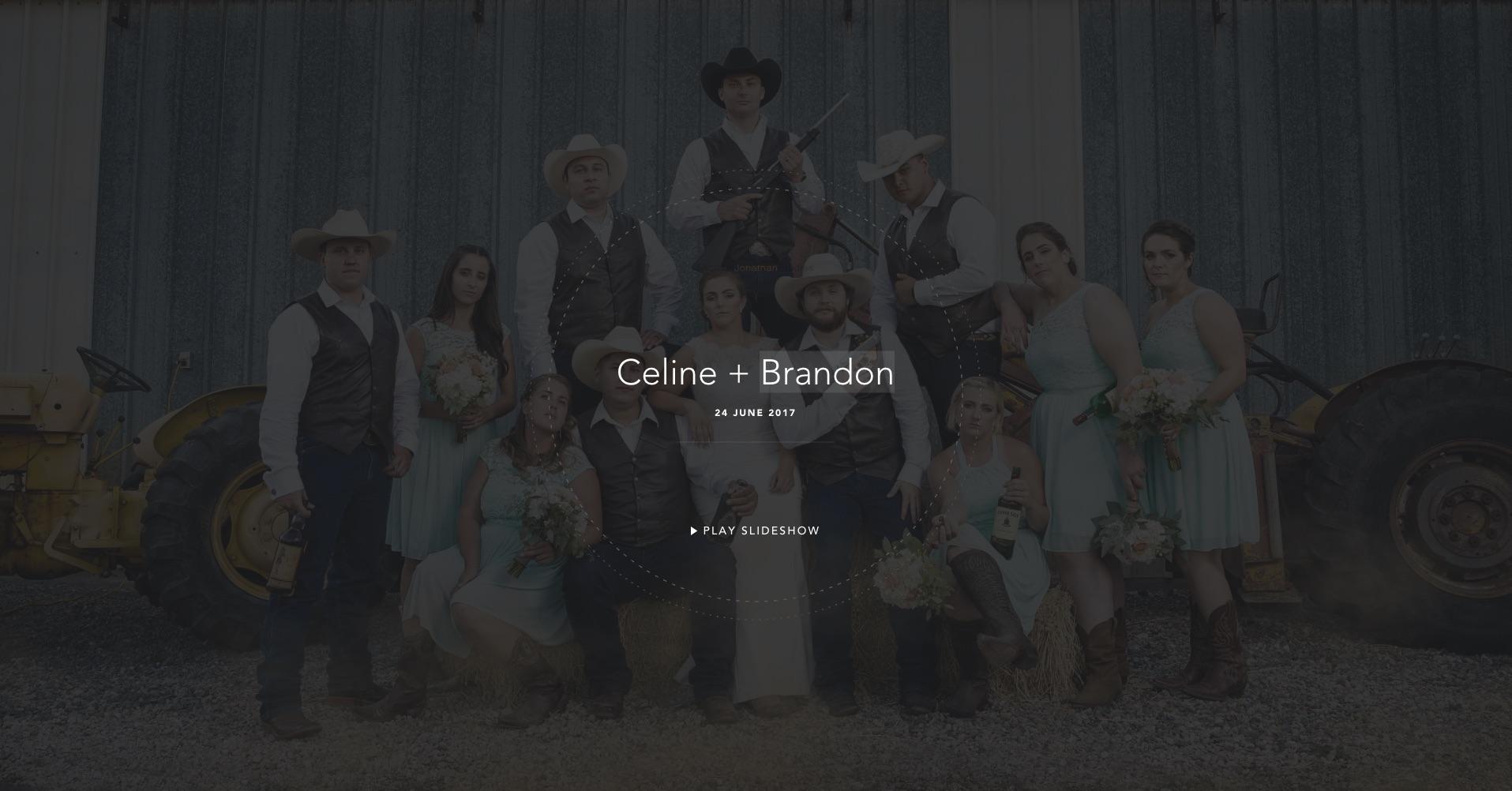 Celine + Brandon