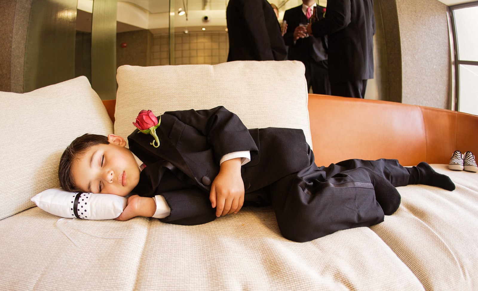 cute-ring-bearer-sleeping-at-7-degrees-