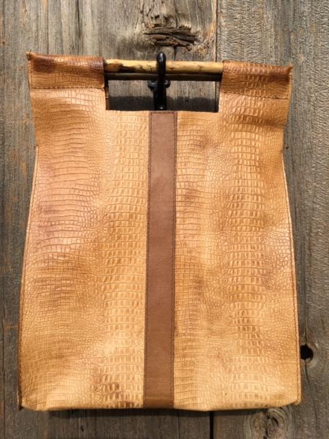 Hornback Tan with Brown Stripe